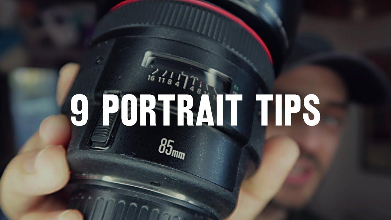 9 astuces pour faire de meilleurs portraits photo