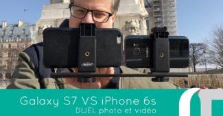 Galaxy S7 Vs. iPhone 6S Plus | Duel photo et video