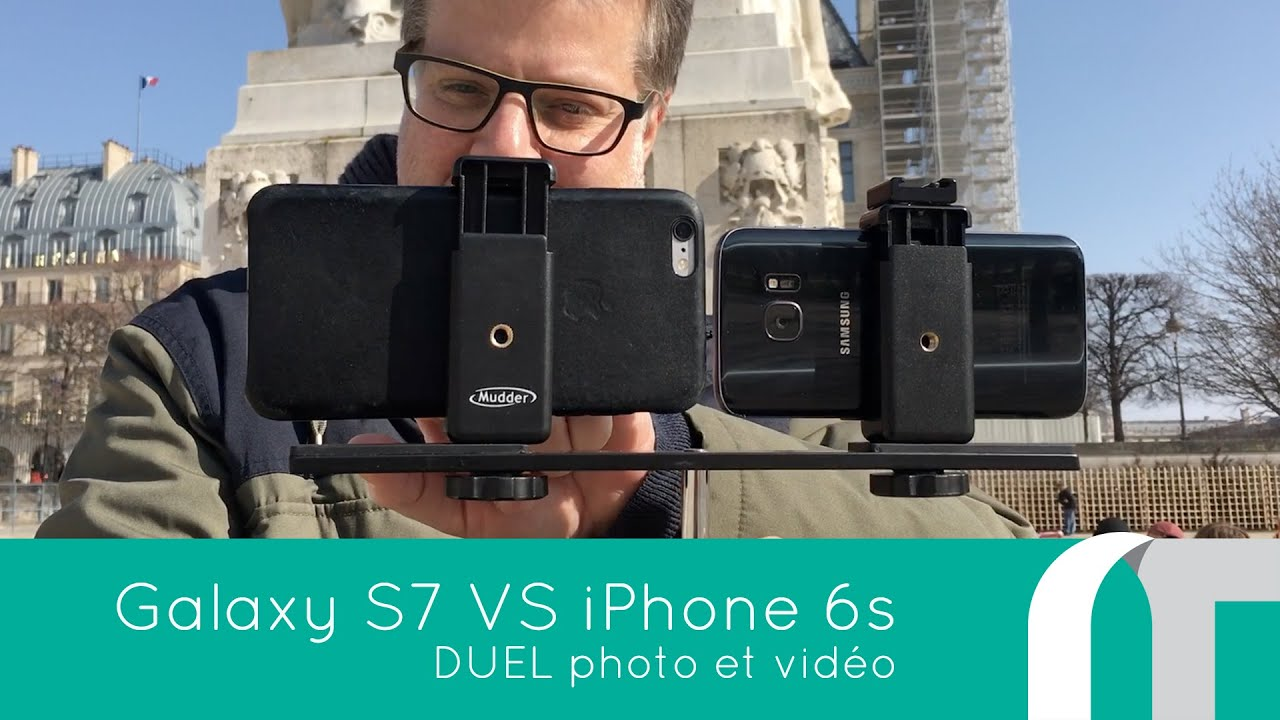Galaxy S7 Vs. iPhone 6S Plus | Duel photo et video